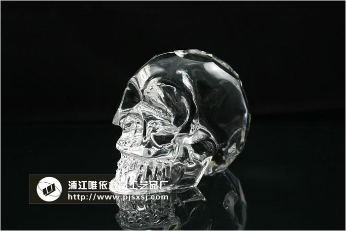 水晶骷髅头