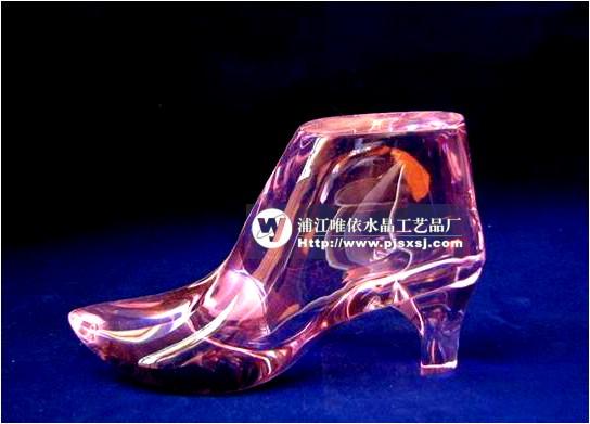 水晶鞋 高跟鞋